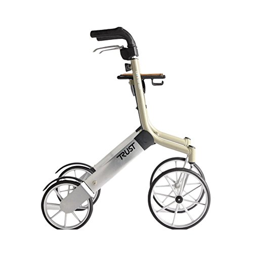 Trust Care Outdoor Rollator Let's Go Out beige silber